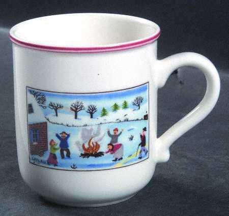 чашка для рождественского кофе