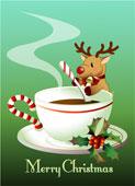 всех кофеманов поздравляем с рождеством!