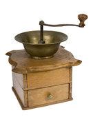 деревянная ручная кофемолка