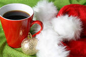 кофе на Новый год