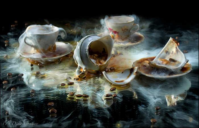 сумасшедшее кофепитие / автор Дима Шатров