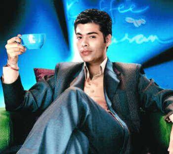 ведущий ток-шок Кофе с Караном - Каран Джохар / Koffee with Karan Johar