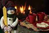 новогоднее кафе