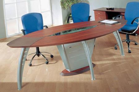 переговорный стол в офис (кофейный)