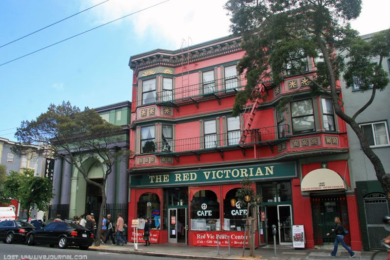 The Red Victorian Peace Cafe в Сан-Франциско