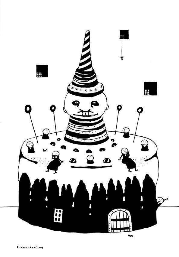 торт и ваки