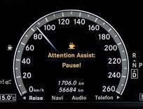 Attention Assist - датчик усталости водителя автомобиля.