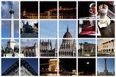 Будапешт - столица Венгрии | коллаж