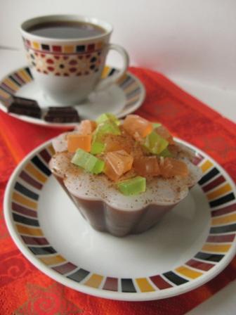 Кофейное пирожное - самодельное мыло
