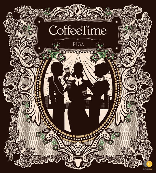 Дизайн для кофейни Coffee Time в Риге (Латвия)