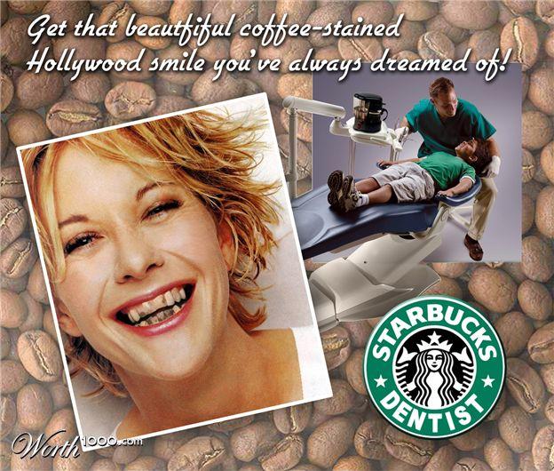 Как кофе влияет на зубы