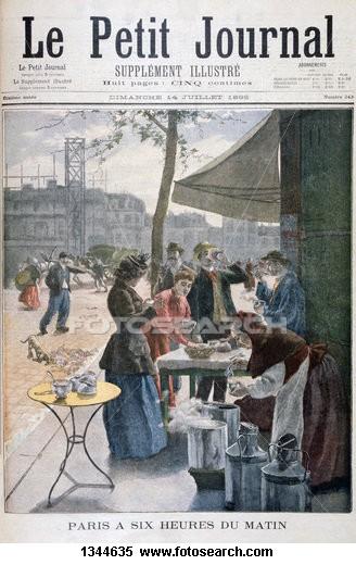 Le Petit journal - иллюстрация 1895 года