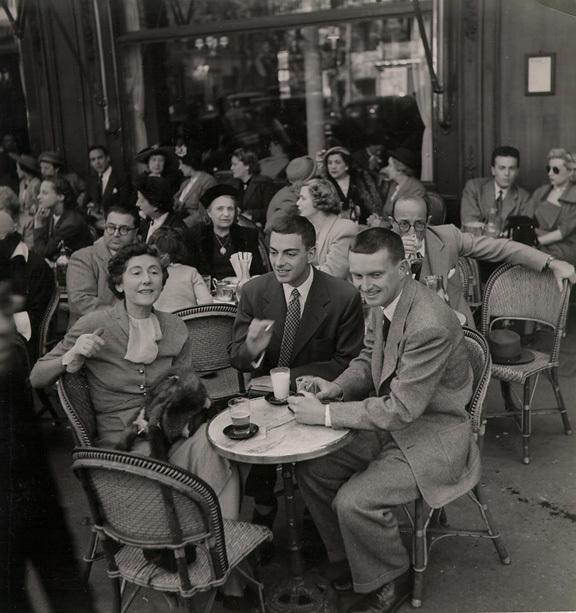 Ресторан Максим в Париже / фотография 1950-х годов
