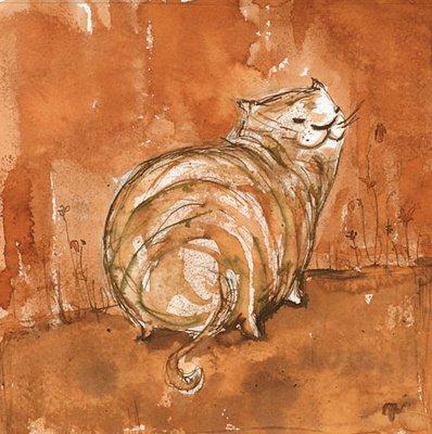 Рыжий кот (с) Irisz Agocs