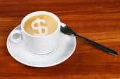 дорогой кофе