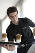 Кофейный напиток - кофе с солью, шоколад, взбитые сливки