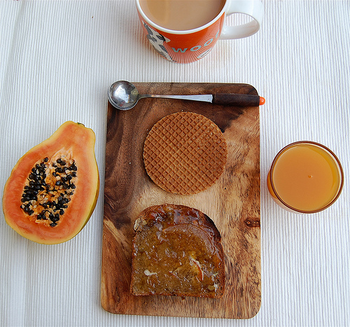 Завтрак с кофе от Bowhaus