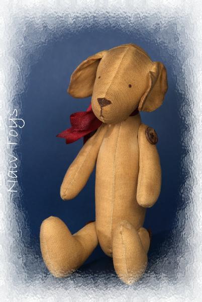 Игрушечная собака с ароматом кофе и ванили - автор Романченко Юлия