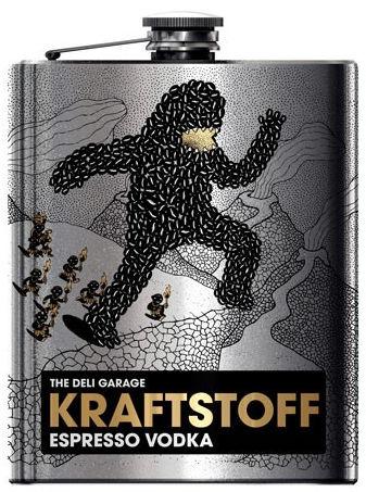 Водка со вкусом кофе эспрессо KRAFTSTOFF