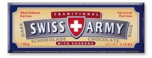 Черный шоколад для армии швейцарии