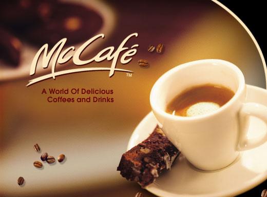 Кофе McCaf? в McDonald's