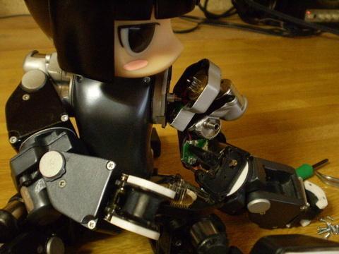 Девочка робот кофеварка coffee maker girl robot