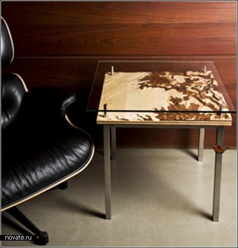 Кофейные столики Earth-Stripe Table