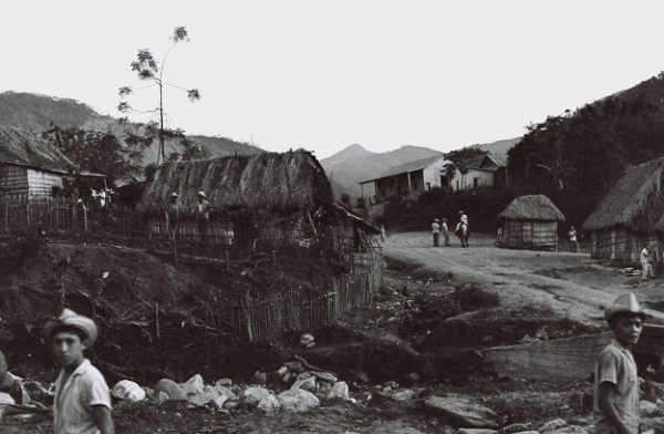 Кофейная деревня на Кубе у подножия гор Сиерра