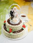 Свадьба-кофе и свадебный торт