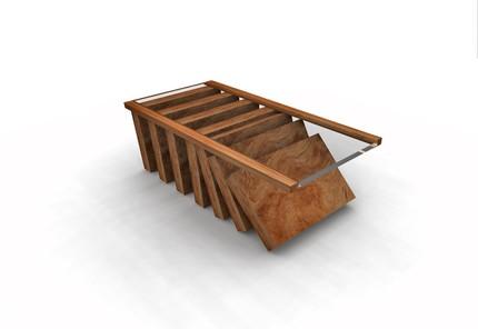 дизайнерский стол для кофе в виде домино