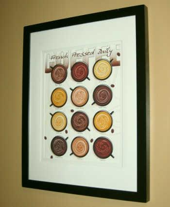 Кофейная карта-постер для кафе