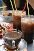 Кофейный коктейль с газированной водой