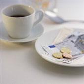 Оплата за кофе