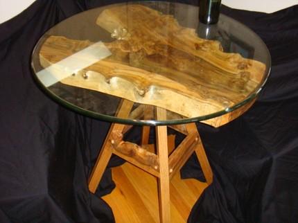 Дизайн деревянного кофейного столика ручной работы