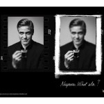 Рекламный постер nescafe nespresso what else 2007 год Джордж Клуни