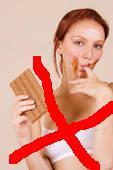 Хватит облизывать пальцы от шоколада!