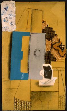 "Картина-коллаж ""Чашка кофе"" Пабло Пикассо"