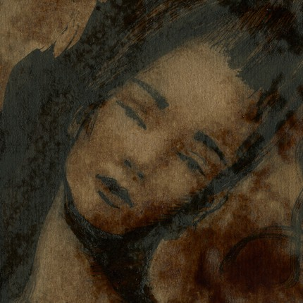 Картина написанная с помощью растворимого кофе