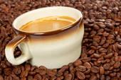 Кофе с пищевым золотом