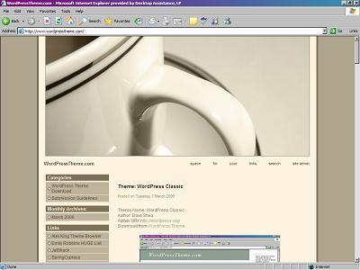 готовый шаблон wordpress