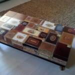 Кофейный столик из сигарных коробок