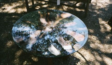 Кофейный стол из корней кедра