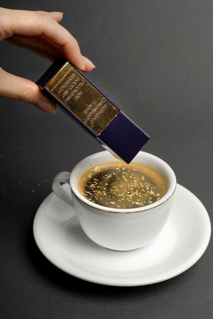Пищевое золото для кофе