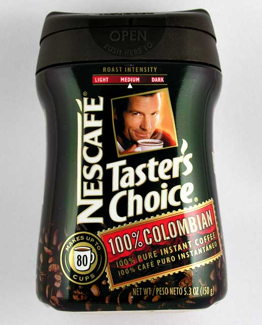 tasters-choice Нескафе