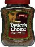 tasters-choice этикетка банки кофе