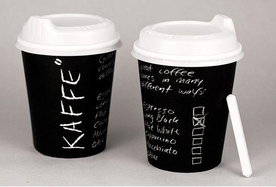 Одноразовые картонные стаканчики для кофе на вынос
