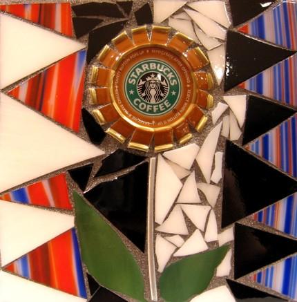 Мозаика на тему кофе