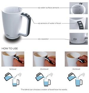 Инструкция к чашке кофе для слабовидящих