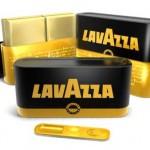 Золотая оловянная упаковка для кофе Lavazza