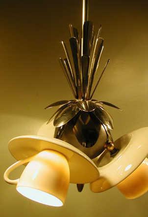 Лампа эспрессо - дизайн освещения для ресторана или кафе